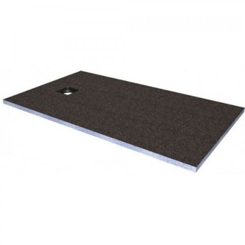 Abacus Elements Rectangular Standard Shower Tray 30mm High With Ended Drain - 1600mm x 900mm